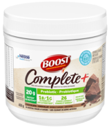 BOOST Complete+ Chocolate Probiotic Meal Replacement Powder