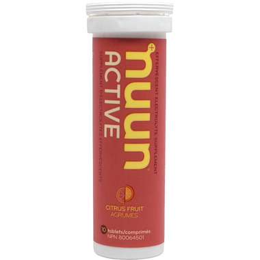 Nuun Active Effervescent Electrolyte Supplement Citrus Fruits