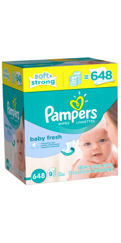 Buy Pampers Baby Fresh Wipes at Well.ca | Free Shipping ...
