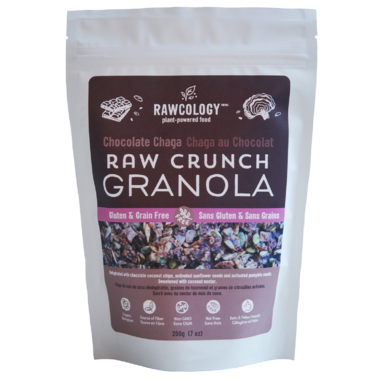 Rawcology Chocolate Chaga Raw Crunch Granola