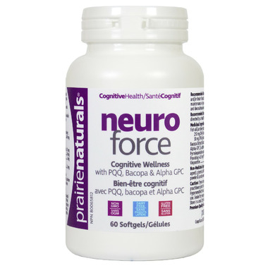 Prairie Naturals NeuroForce Cognitive & Brain Health