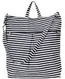 Logan and Lenora Waterproof Daytripper Tote Bag Audrey Stripe