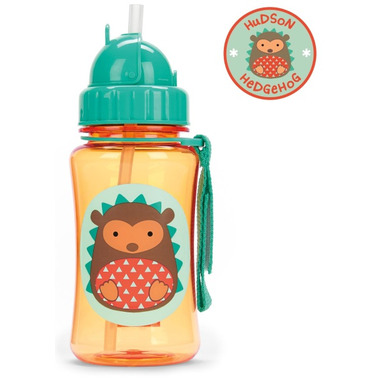 Skip Hop Zoo Straw Bottle Hedgehog