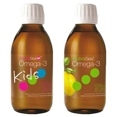 NutraSea Family Liquid Omega\'s Bundle