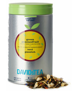 DAVIDsTEA Iconic Tin Green Passionfruit