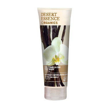 Desert Essence Organics Vanilla Chai Body Wash