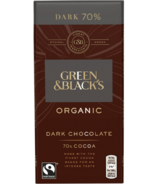 Green & Black's Organic Dark Chocolate 70% Cacao