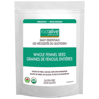 Rootalive Organic Whole Fennel Seeds