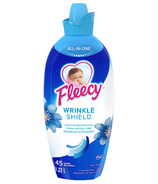 Fleecy Liquid Fabric Softener Wrinkle Shield
