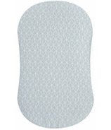 HALO Bassinest Fitted Sheet Cotton Morning Mist