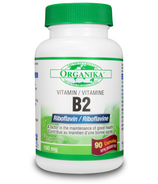 Organika Vitamin B2 (Riboflavin)