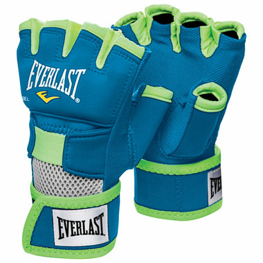 Everlast Evergel Hand Wraps Blue & Green Extra Large