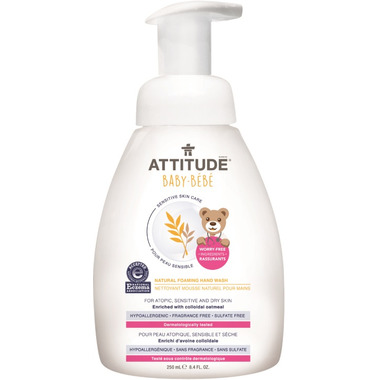 ATTITUDE Natural Foaming Hand Wash