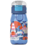 Zoku Kids Flip Gulp Bottle Blue