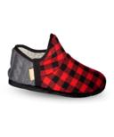 Pudus Lumberjack Red Brodie Slipper S-XL