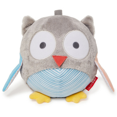 Skip Hop Treetop Friends Owl Chime Ball Grey Pastel