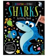 Make Believe Ideas Scratch and Sparkle: Sharks Activity Book