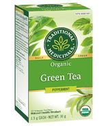 Traditional Medicinals Organic Green Tea Peppermint