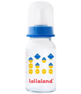 Lollaland Glass Baby Bottle Small Blue
