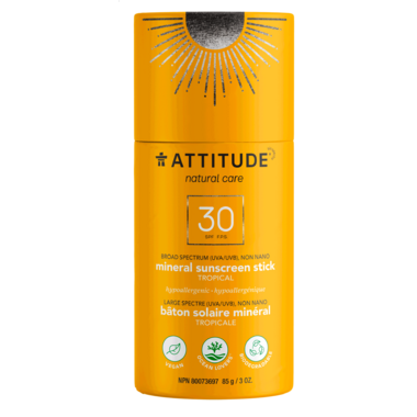 ATTITUDE SPF 30 Sunscreen Stick Tropical