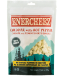 Enercheez Premium Artisan Crunchy Cheddar Cheese with Hot Pepper