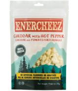 Fromage cheddar croquant artisanal Enercheez Premium avec piment fort