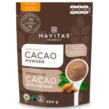 Navitas Naturals Organic Cacao Powder Large