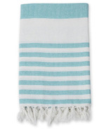 Lulujo Turkish Towel Ocean Blue