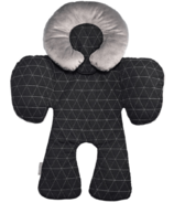 JJ Cole Reversible Black Tri-Stitch Body Support
