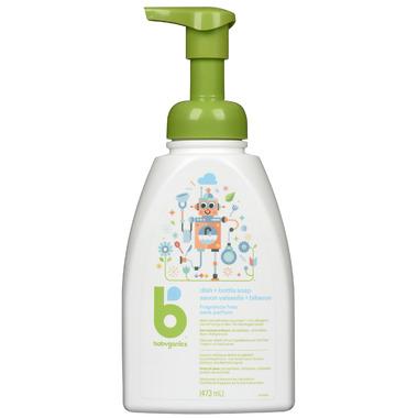 babyganics Foaming Dish & Bottle Soap Fragrance Free