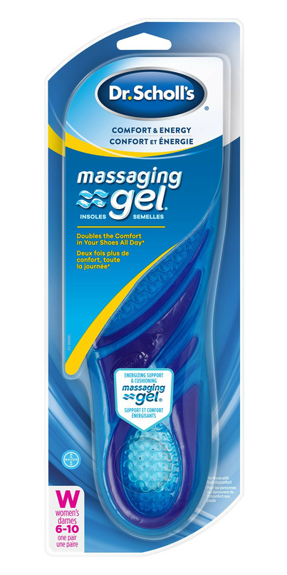 a1dc9a6eef Buy Dr. Scholl's Massaging Gel Insoles with Dual Gel for Women at Well.ca |  Free Shipping $35+ in Canada