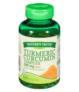 Nature's Truth Turmeric Curcumin Complex 500 mg Plus Black Pepper Extract