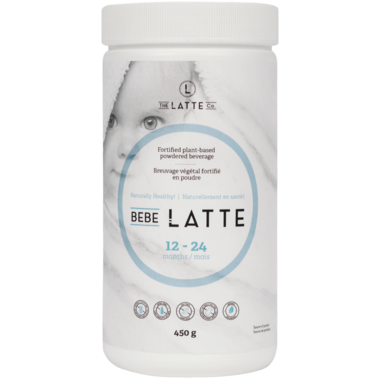 The Latte Co. Bebe Latte Plant-Based Powdered Beverage 12-24 Months