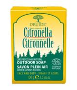 Druide Laboratories Citronella Organic Bar Soap