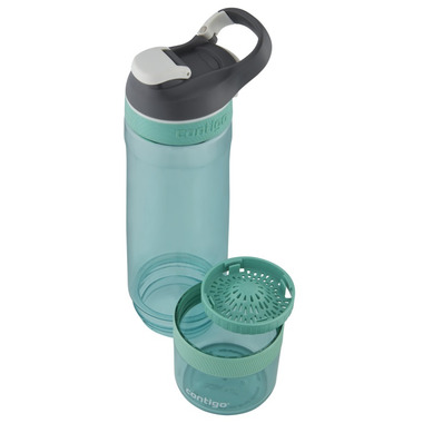 Contigo Cortland Infuser Water Bottle Grayed Jade