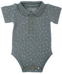 L'ovedbaby Polo Bodysuit Moonstone Dots
