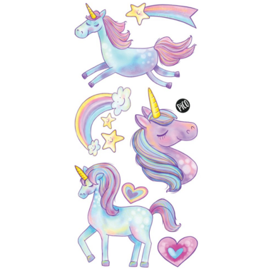 PiCO Temporary Tattoos The Cute Unicorns