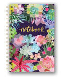 Studio Oh! Spiral Notebook Succulent Paradise