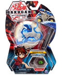 Bakugan Ultra Aquos Fangzor Collectible Action Figure and Trading Card