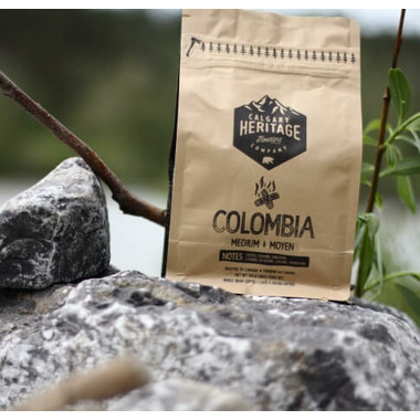 Calgary Heritage Roasting Co. Colombia Whole Bean Coffee