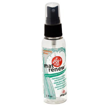 Manduka Mat Cleaner Renew Spray Travel Citrus