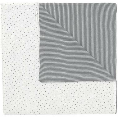 Noppies Organic Cotton Blanket Nusco Grey