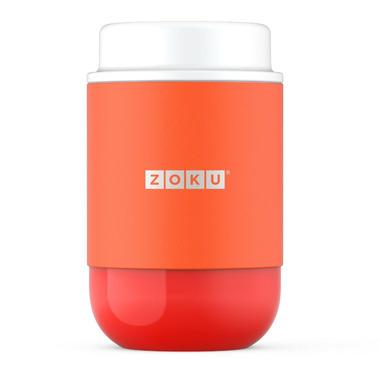 Zoku Stainless Steel Food Jar Orange
