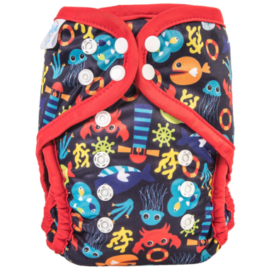 Bummis Swimmi One Size Swim Diaper Under The Sea