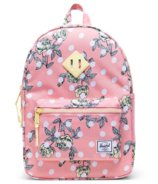 Herschel Supply Heritage Backpack Kids Polka Floral Peony