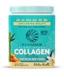 Sunwarrior Collagen Building Protein Peptides Plant Based Tahitian Vanilla
