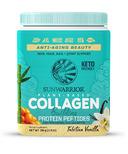 Sunwarrior Collagen Building Protein Peptides Plant Based Tahitian Vanilla