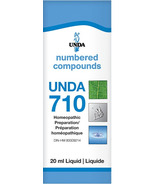 UNDA Numbered Compounds UNDA 710 Homeopathic Preparation