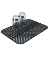 Umbra Sling Plate Holder Sink Mat Large Charcoal