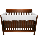 Jolly Jumper Soft Crib Rail Covers White